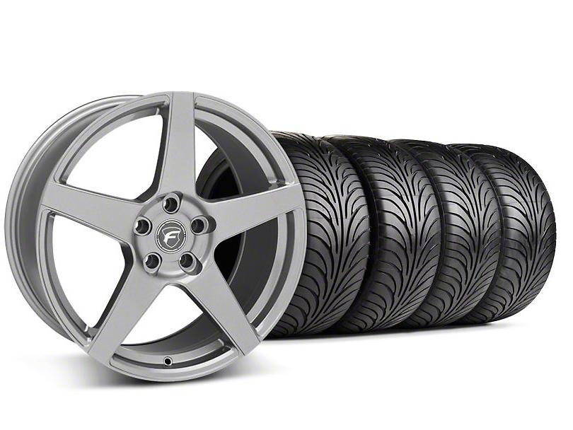 Forgestar CF5 Monoblock Gunmetal Wheel & Sumitomo Tire Kit - 18x9 (99-04 All)