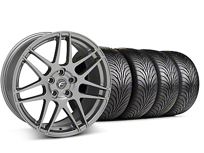 Forgestar F14 Monoblock Gunmetal Wheel & Sumitomo Tire Kit - 18x9 (99-04 All)