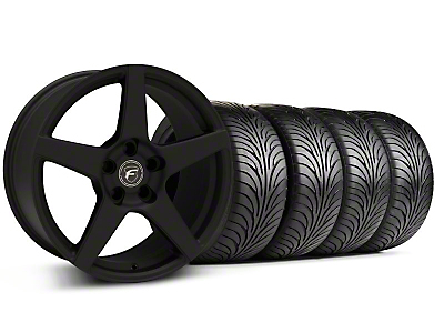 Forgestar CF5 Monoblock Textured Black Wheel & Sumitomo Tire Kit - 18x9 (99-04 All)