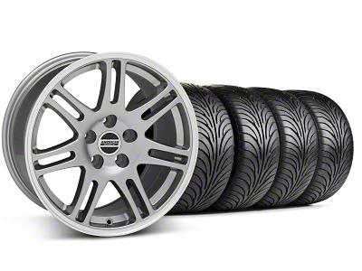 10th Anniversary Cobra Style Anthracite Wheel & Sumitomo Tire Kit - 18x9 (99-04 All)