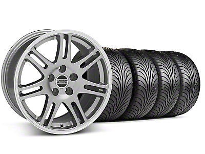 10th Anniversary Cobra Anthracite Wheel & Sumitomo Tire Kit - 18x9 (99-04 All)
