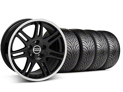 10th Anniversary Cobra Style Black Wheel & Sumitomo Tire Kit - 18x9 (99-04 All)