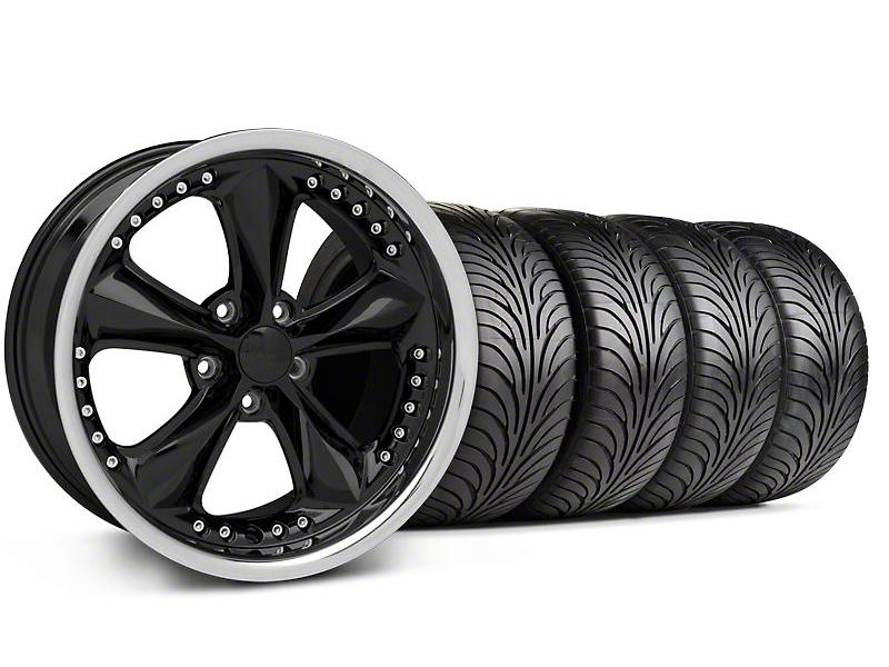 Foose Nitrous Black Wheel & Sumitomo Tire Kit - 18x9 (99-04 All)