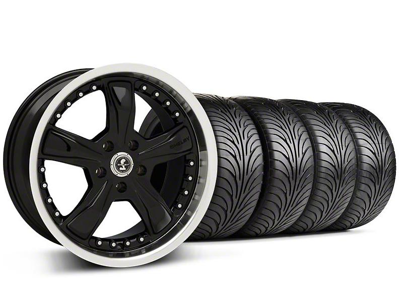 Shelby Razor Black Wheel & Sumitomo Tire Kit - 18x9 (99-04 All)