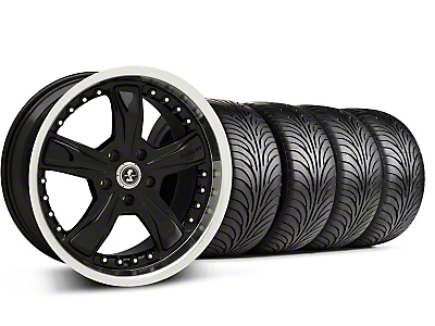 Shelby Razor Black Wheel & Sumitomo Tire Kit - 18x9 (99-04 All)