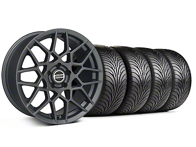 2013 GT500 Style Charcoal Wheel & Sumitomo Tire Kit - 18x9 (99-04 All)