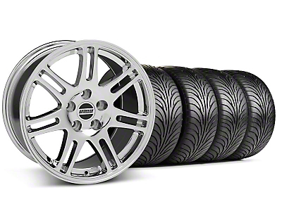 10th Anniversary Cobra Chrome Wheel & Sumitomo Tire Kit - 18x9 (99-04 All)