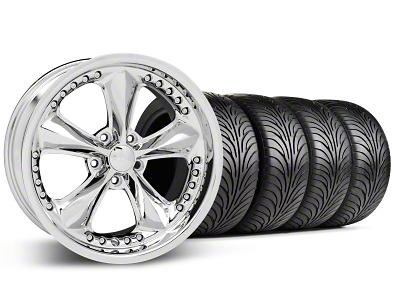 Foose Nitrous Chrome Wheel & Sumitomo Tire Kit - 18x9 (99-04 All)