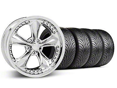 Foose Nitrous Chrome Wheel & Sumitomo Tire Kit - 18x9 (99-04 All)