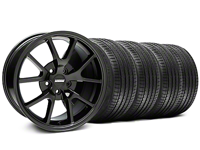 FR500 Gloss Black Wheel & Sumitomo Tire Kit - 18x9 (99-04 All)