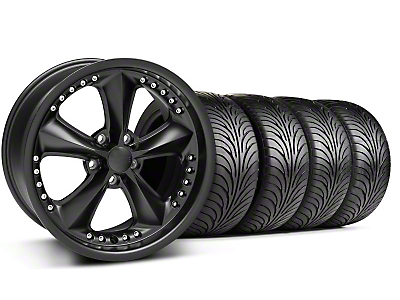 Foose Nitrous Matte Black Wheel & Sumitomo Tire Kit - 18x9 (99-04 All)