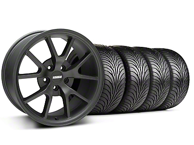 FR500 Matte Black Wheel & Sumitomo Tire Kit - 18x9 (99-04 All)