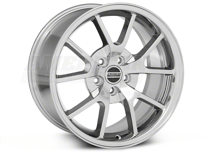 FR500 Style Chrome Wheel & Mickey Thompson Tire Kit - 18x9 (05-14 All)