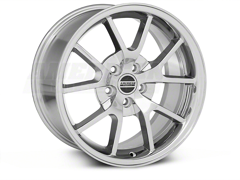 FR500 Style Chrome Wheel & NITTO INVO Tire Kit - 18x9 (05-14 All)