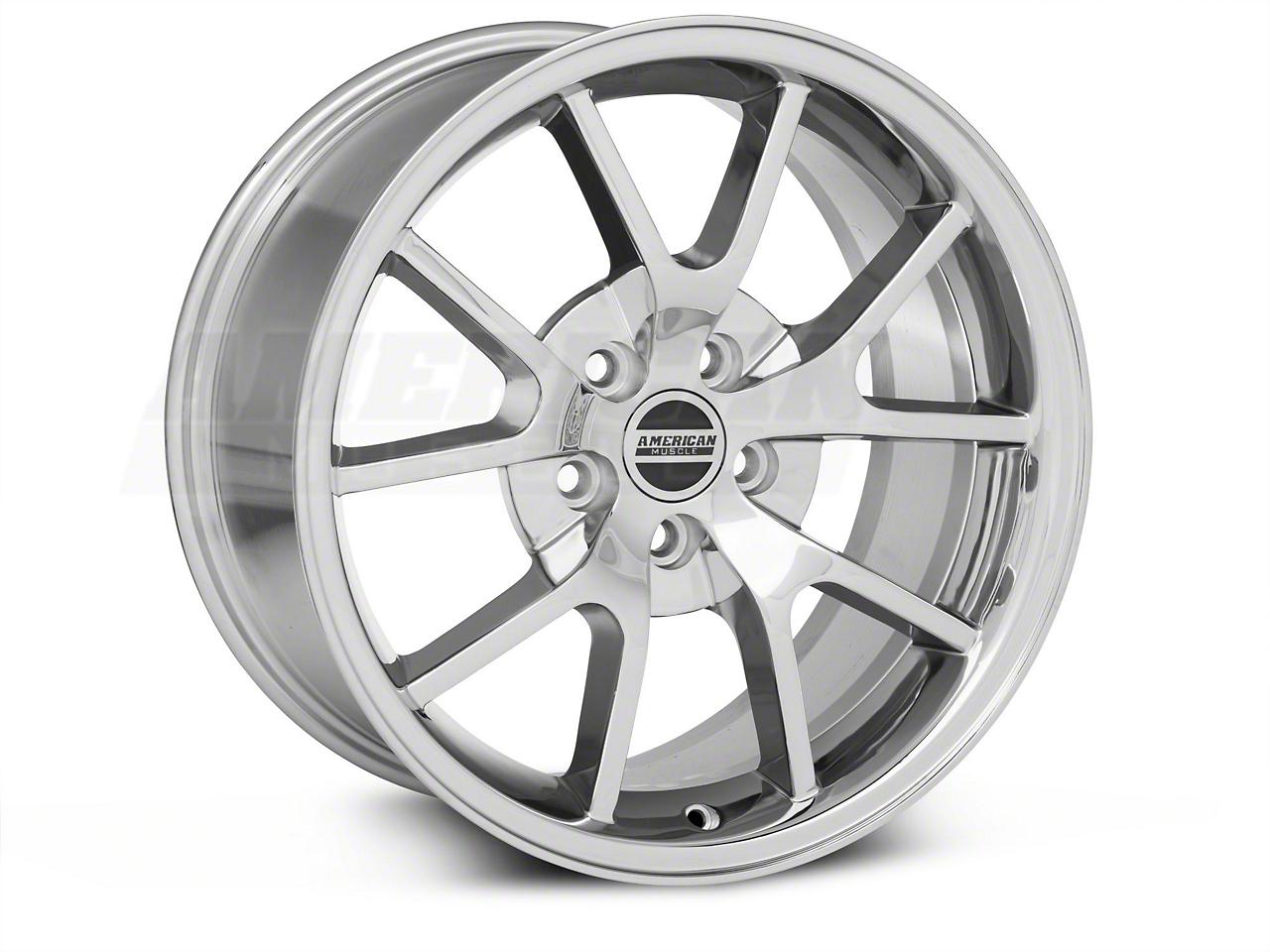 FR500 Chrome Wheel & NITTO INVO Tire Kit - 18x9 (05-14 All)