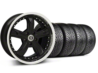 Shelby Razor Black Wheel & Sumitomo Tire Kit - 18x9 (05-14 GT, V6)
