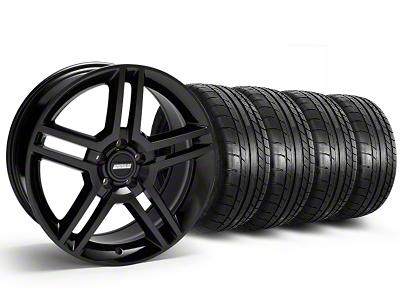 2010 GT500 Style Black Wheel & Mickey Thompson Tire Kit - 19x8.5 (05-14 All)