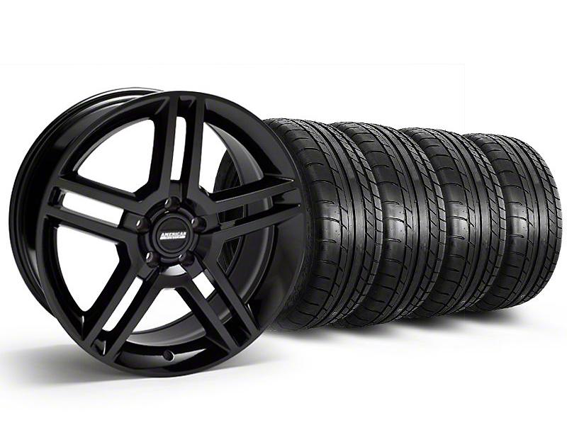 2010 GT500 Black Wheel & Mickey Thompson Tire Kit - 19x8.5 (05-14 All)
