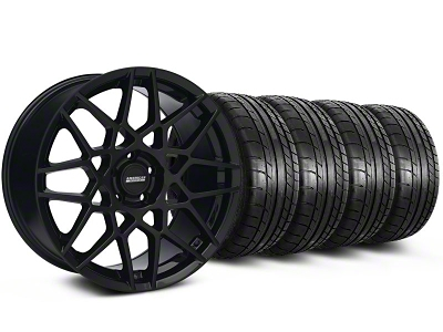 2013 GT500 Style Gloss Black Wheel & Mickey Thompson Tire Kit - 19x8.5 (05-14 All)