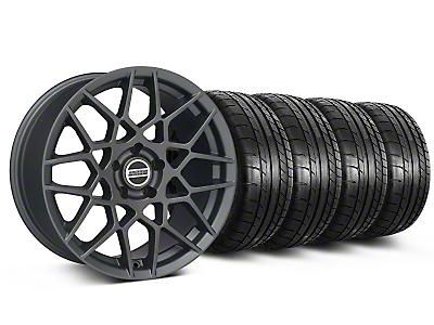 2013 GT500 Charcoal Wheel & Mickey Thompson Tire Kit - 19x8.5 (05-14 All)