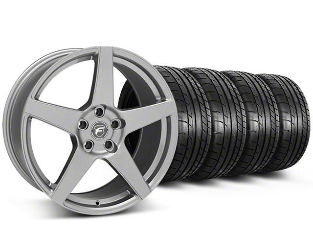 Forgestar CF5 Monoblock Gunmetal Wheel & Mickey Thompson Tire Kit - 19x9 (05-14 All)