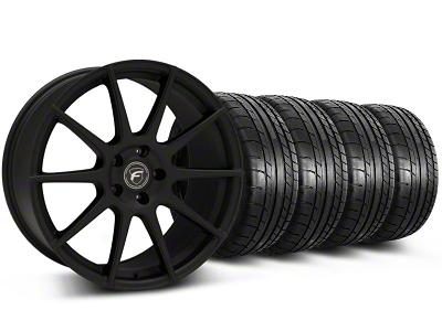 Forgestar CF10 Monoblock Textured Black Wheel & Mickey Thompson Tire Kit - 19x9 (05-14 All)