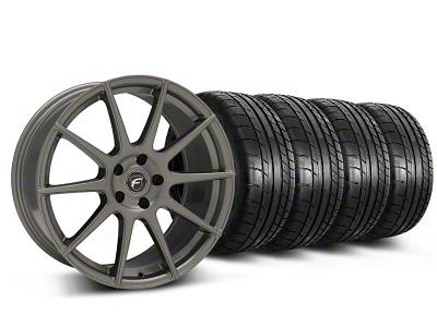 Forgestar CF10 Monoblock Gunmetal Wheel & Mickey Thompson Tire Kit - 19x9 (05-14 All)