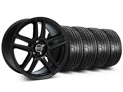 Boss Laguna Seca Black Wheel & Mickey Thompson Tire Kit - 19x9 (05-14 All)