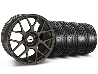 TSW Nurburing Matte Gunmetal Wheel & Mickey Thompson Tire Kit - 20x8.5 (05-14 All)