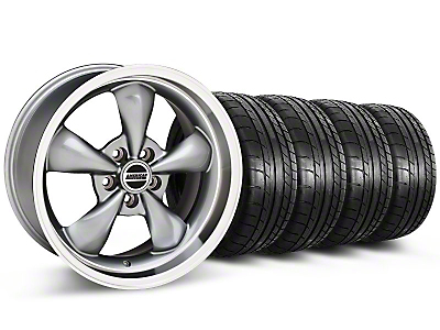 Deep Dish Bullitt Anthracite Wheel & Mickey Thompson Tire Kit - 20x8.5 (05-10 GT, V6)