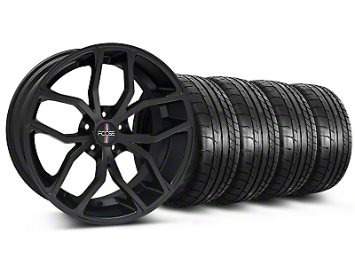 Foose Outcast Matte Black Wheel & Mickey Thompson Tire Kit - 20x8.5 (05-14 GT All)