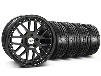 TSW Valencia Matte Black Wheel & Mickey Thompson Tire Kit - 20x8.5 (05-14)