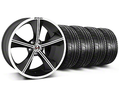 Shelby CS70 Matte Black Wheel & Mickey Thompson Tire Kit - 20x9 (05-14)