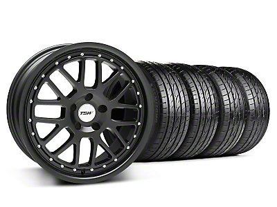 TSW Valencia Matte Black Wheel & Sumitomo Tire Kit - 20x8.5 (05-14)