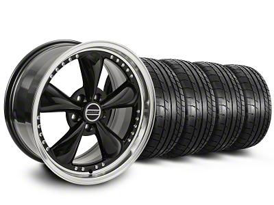 Bullitt Motorsport Black Wheel & NITTO INVO Tire Kit - 20x8.5 (05-14 V6; 05-10 GT)