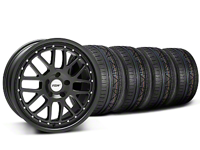 TSW Valencia Matte Black Wheel & NITTO INVO Tire Kit - 20x8.5 (05-14)
