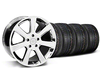 S197 Saleen Style Chrome Wheel & NITTO INVO Tire Kit - 20x9 (05-14)
