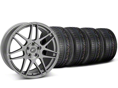 Forgestar F14 Monoblock Gunmetal Wheel & NITTO INVO Tire Kit - 20x9 (05-14)