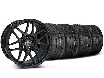Forgestar F14 Monoblock Piano Black Forgestar F14 Monoblock Wheel & NITTO INVO Tire Kit - 20x9 (05-14)