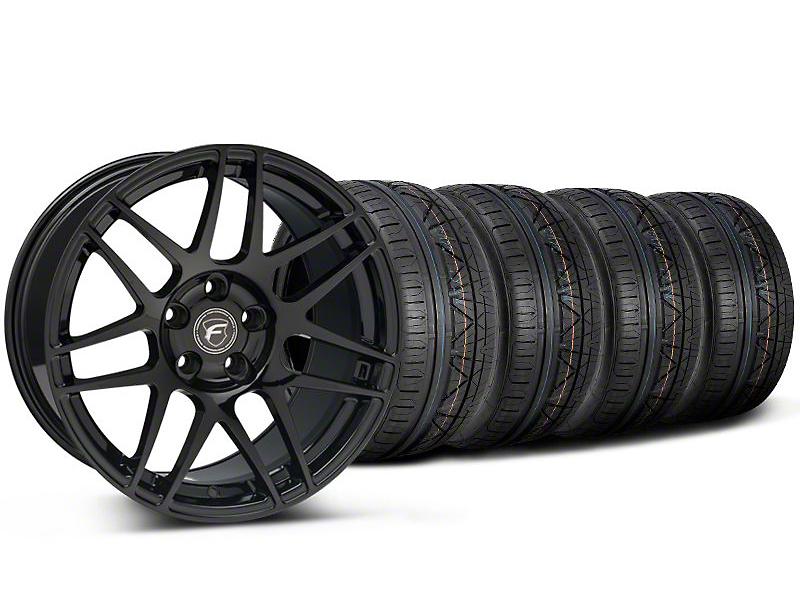 Forgestar F14 Monoblock Piano Black F14 Monoblock Wheel & NITTO INVO Tire Kit - 20x9 (05-14)