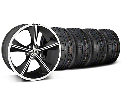 Shelby CS70 Matte Black Wheel & NITTO INVO Tire Kit - 20x9 (05-14)