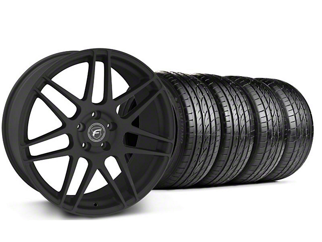 Forgestar F14 Monoblock Textured Black Wheel & Sumitomo Tire Kit - 20x9 (05-14)