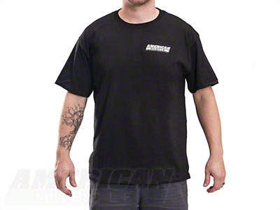 AmericanMuscle S197 T-Shirt - Black