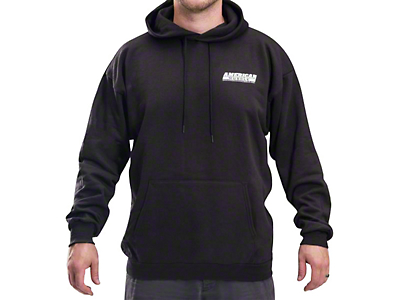 AmericanMuscle Sweatshirt - Black (Large)