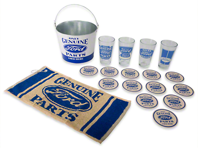 Ford Genuine Parts Pint Glass Set