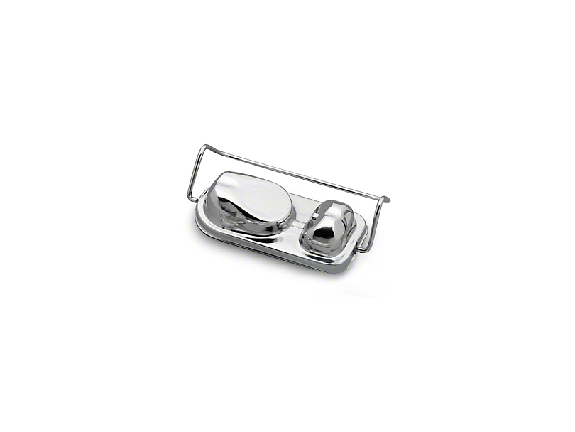 Chrome Master Cylinder Cover (73-83 V8)