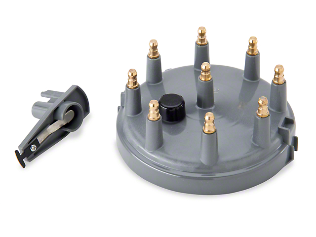 Accel Replacement Cap & Rotor Kit - Gray (86-95 5.0L)