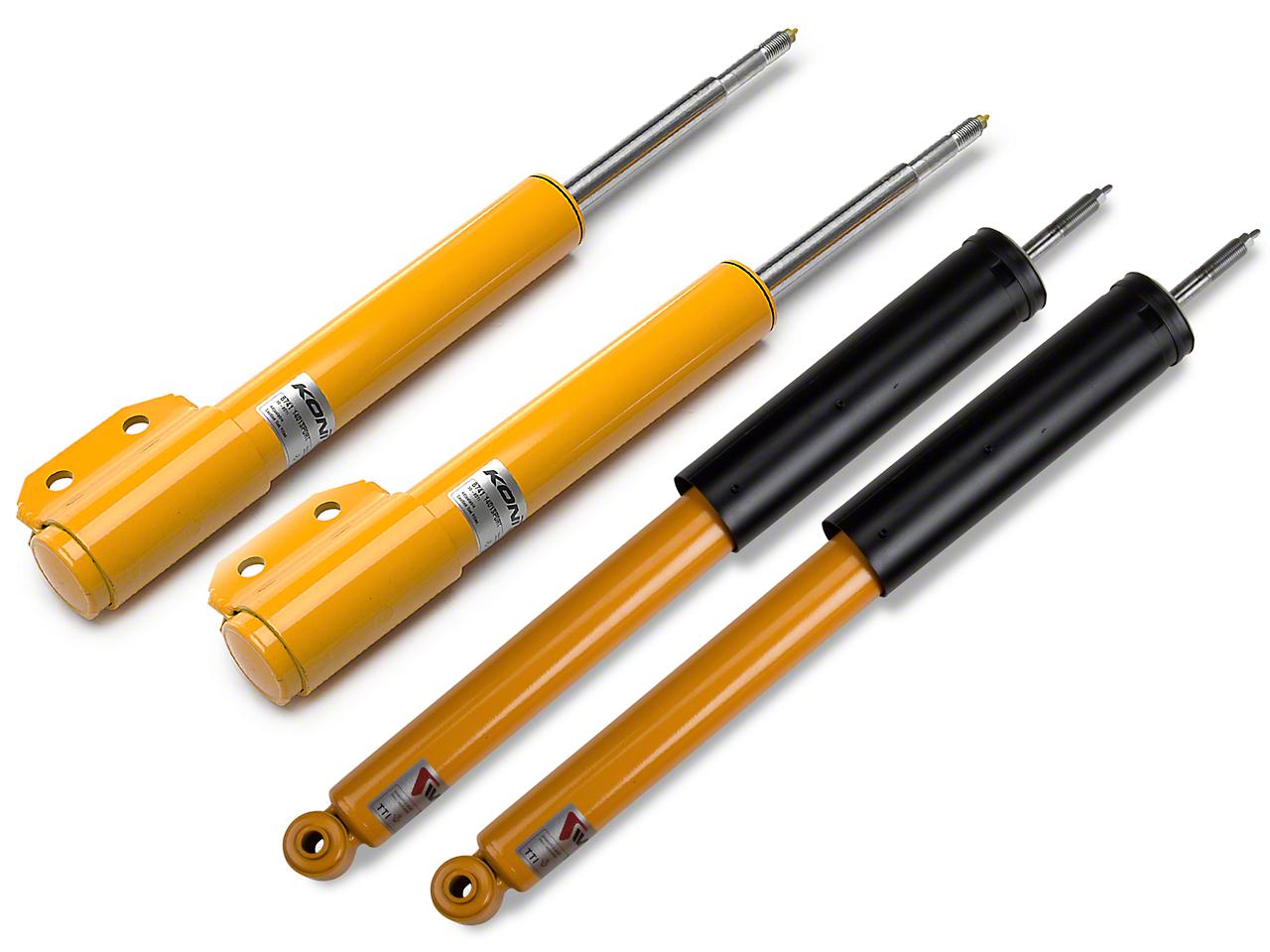 KONI Sport Adjustable Shock & Strut Kit (94-04 GT, V6, Mach 1; 94-98 Cobra)