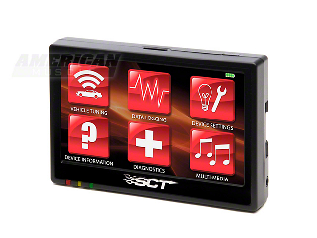 SCT TSX Touch Screen Xtreme Preloaded Tuner (96-11 All)
