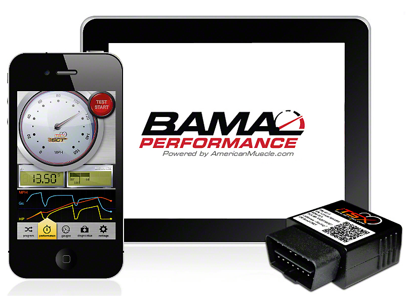 Bama iTSX Wireless Tuner w/ 3 Free Custom Tunes (99-04 GT, Bullitt, Mach 1; 99-01 Cobra)